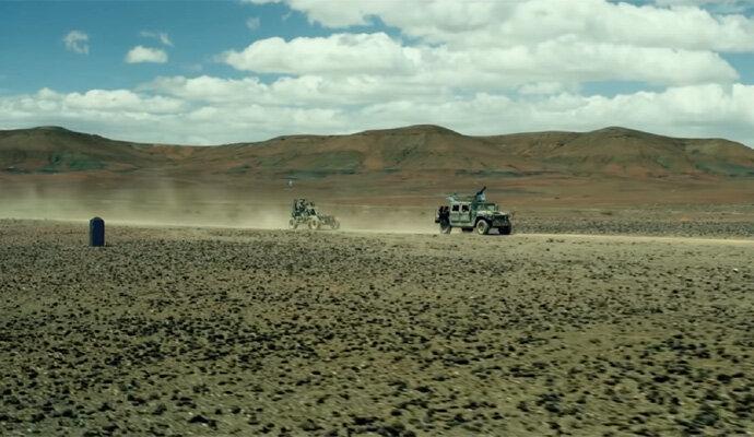 Bukti pasir dalam Monster Hunter