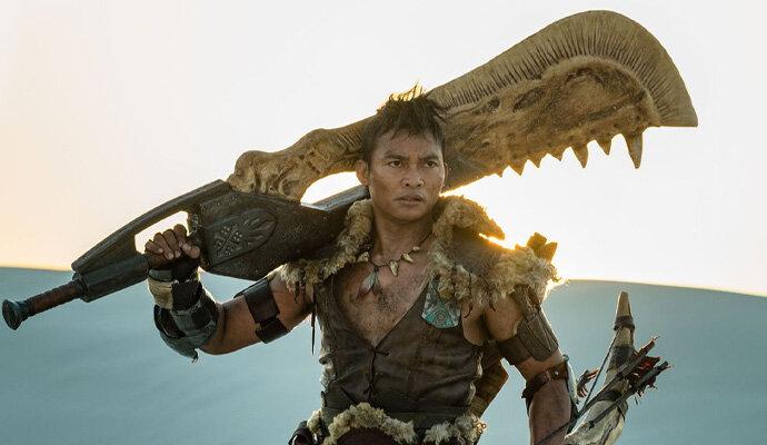 Tony Jaa dengan The Great Sword