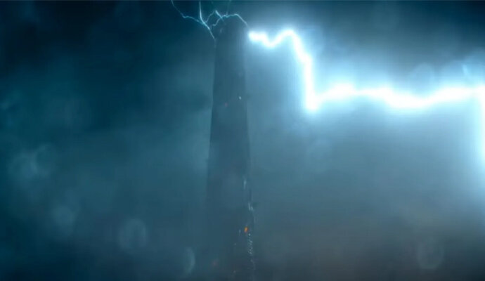 Hancurnya Sky Tower bikin kemungkinan baru sekuel Monster Hunter