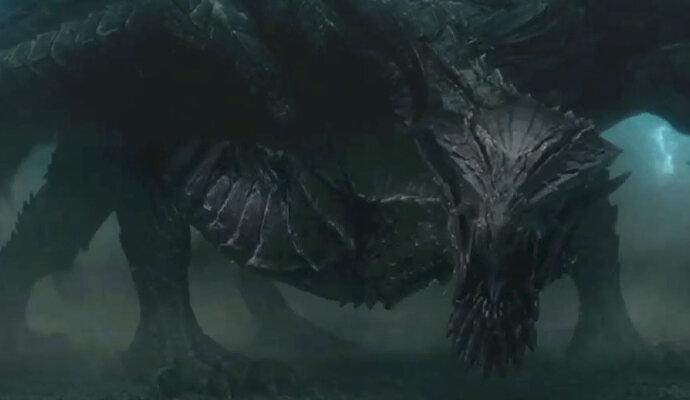 Monster di adegan akhir adalah Gore Magala
