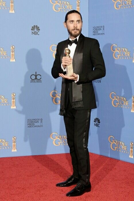 Jared Leto Golden Globe