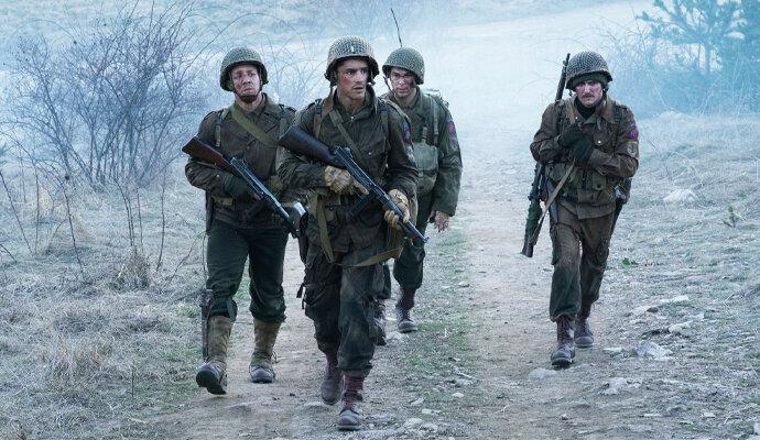 Adegan seting Perang Dunia II di Ghosts of War