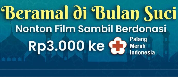 Nonton film sambil berdonasi di Palang Merah Indonesia