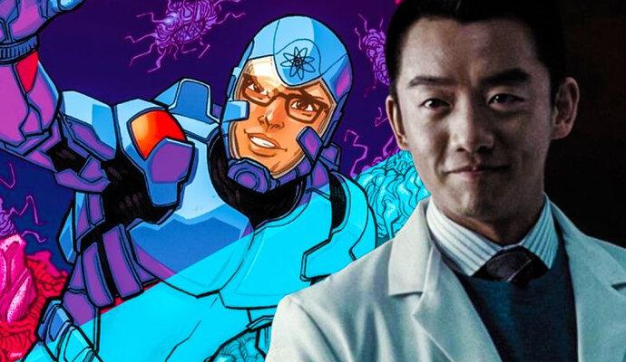 Ryan Choi diperankan Orion Lee, calon superhero The Atom