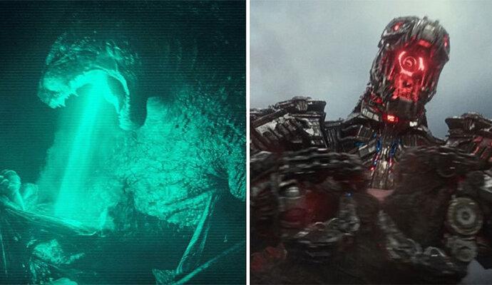 Serangan mematikan Godzilla yang dipakai Mechagodzilla