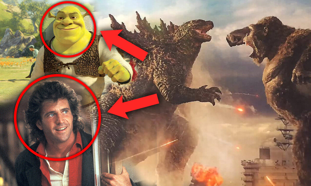 8HaldanKoneksiUnikyang Kalian Lewatkan di Godzilla vs. Kong