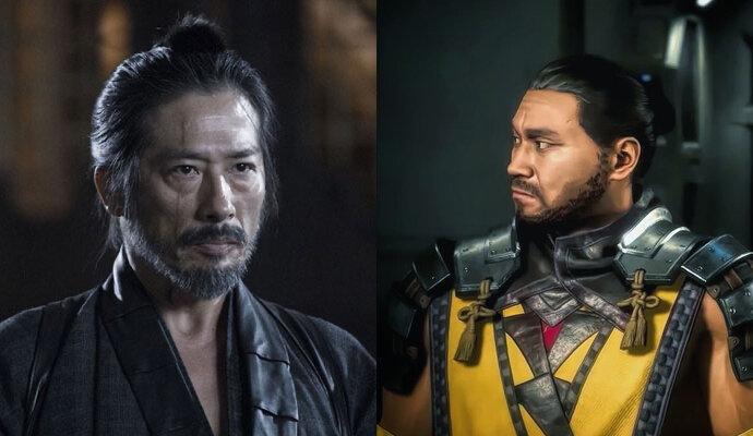 Hattori Hanzo di film dan game sudah mirip ya?
