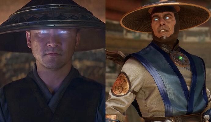 Raiden mirip topinya, tapi kostumnya sepertinya dibuat beda