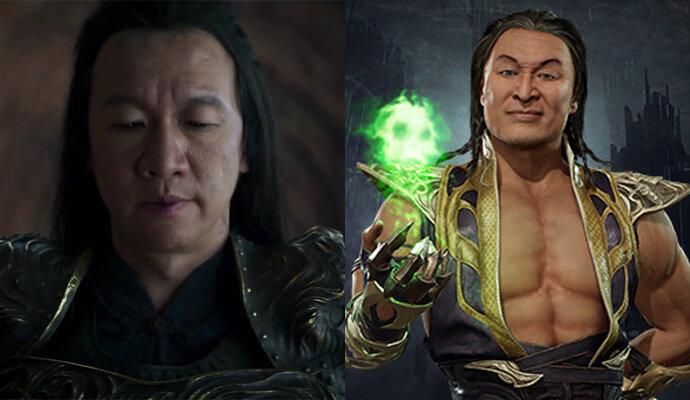 Shang Tsung Chin Han mirip juga ya dengan game