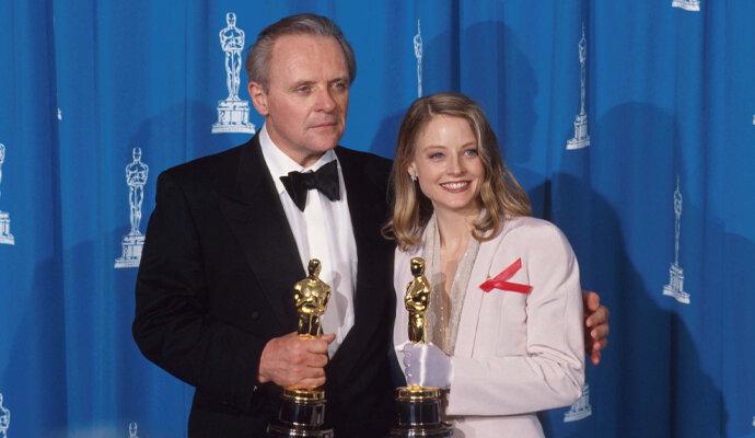 Anthony Hopkins raih Oscar bersama Jodie Foster di Silence of the Lambs