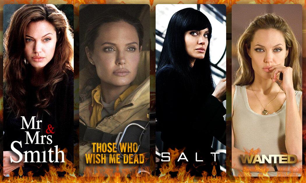 5 Karakter Keras dan Seksi dari Angelina Jolie