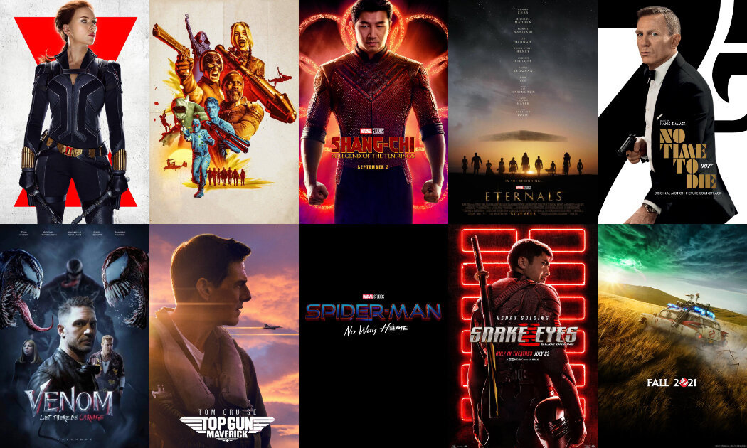 Top 10 Movies to Watch For the Rest of 2021