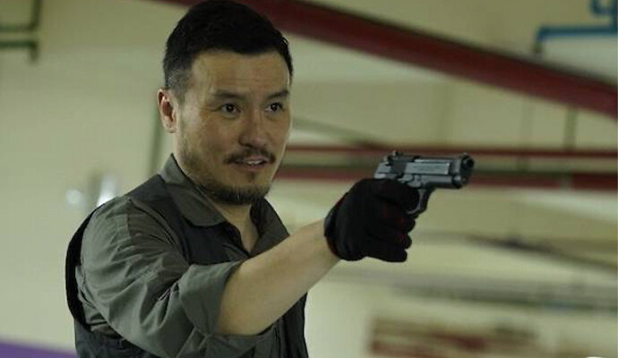 Frederick Lee, pemeran Hu Ta-Dong, buronan dengan catatan kriminal yang panjang