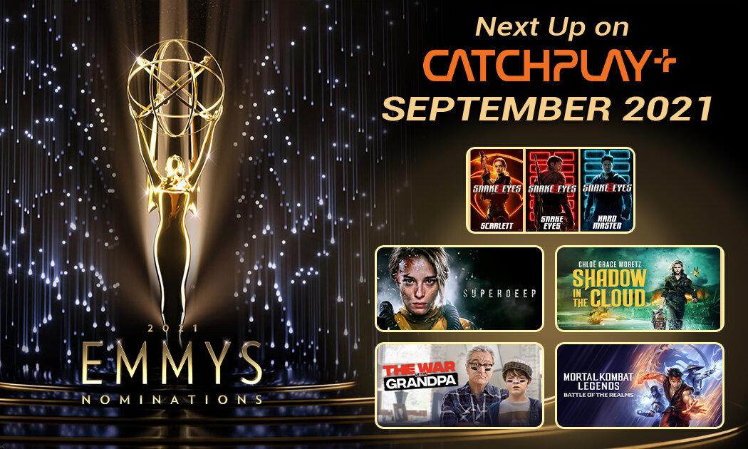 September Bakal Ceria dengan Pesta Emmy® Awards dan Sederet Film Terbaru dari CATCHPLAY+