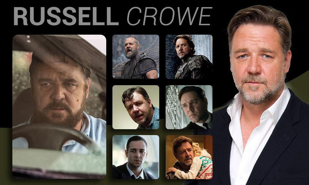 7 Peran Russell Crowe dalam Film, dari Nabi hingga Orang Gila