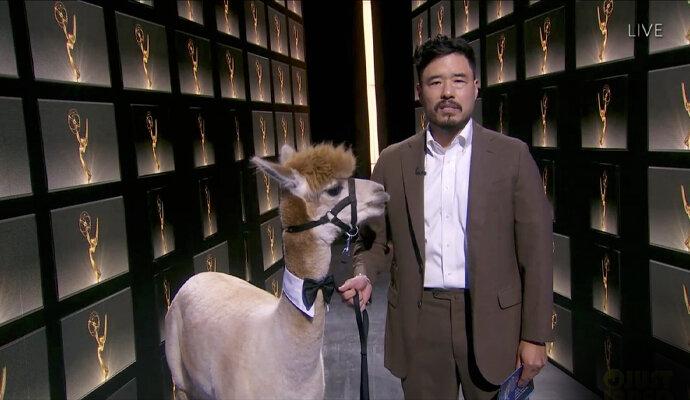 Bukan Al Pacino, Randall Park bacakan pemenang bersama Alpaca