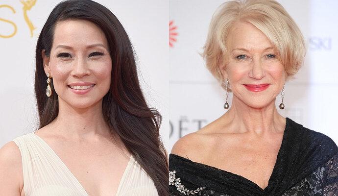 Kebayang gak sih Lucy Liu dan Helen Mirren akting di film superhero?