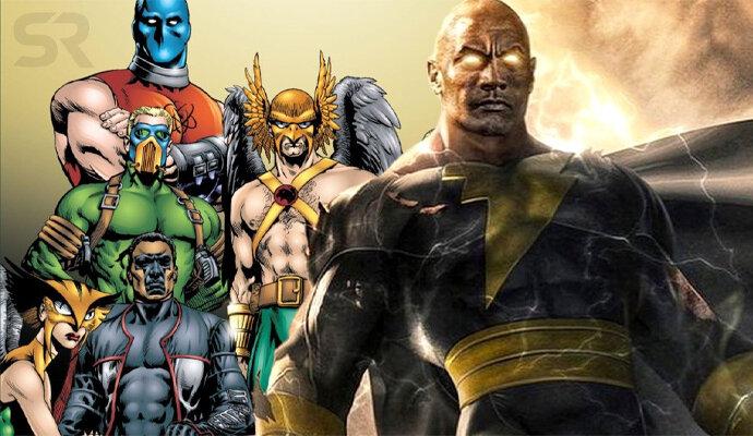 Justice Society of America diperkenalkan melalui Black Adam