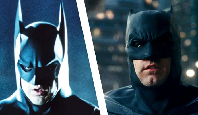 Batman versi Michael Keaton dan Ben Affleck bertemu di film The Flash?